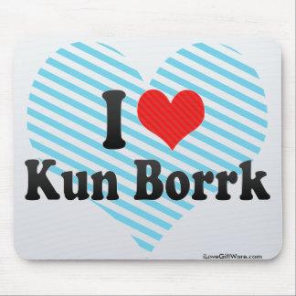 Amo Kun Borrk Alfombrilla De Ratones