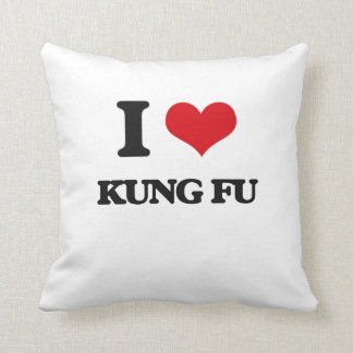 Amo Kung Fu Almohadas