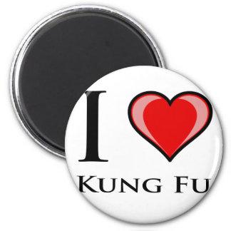 Amo Kung Fu Imán Para Frigorífico