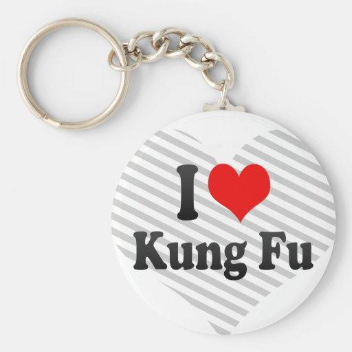 Amo Kung Fu Llaveros Personalizados