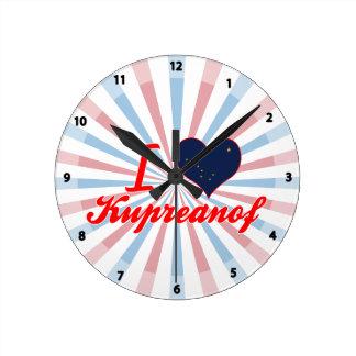 Amo Kupreanof, Alaska Reloj De Pared