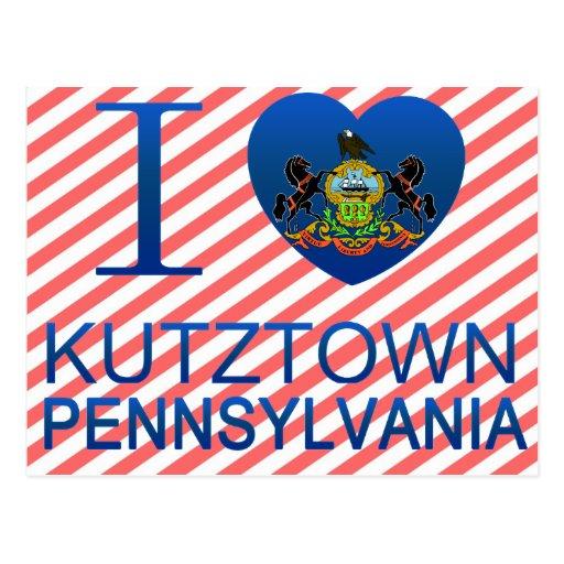 Amo Kutztown, PA Postales
