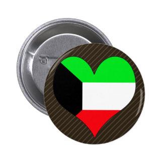 Amo Kuwait Pin Redondo 5 Cm