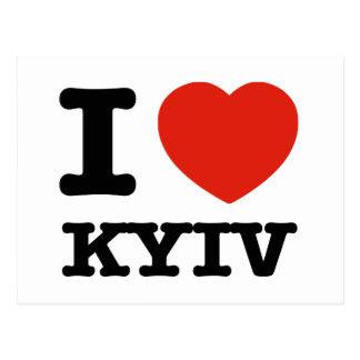 Amo Kyiv Tarjetas Postales