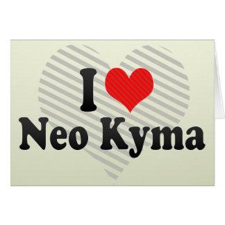 Amo Kyma neo Felicitaciones