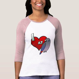 Amo la 3/4 camisa con mangas de mis mujeres
