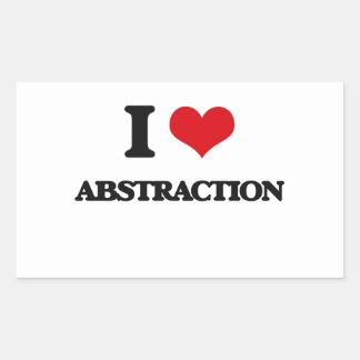 Amo la abstracción rectangular altavoz