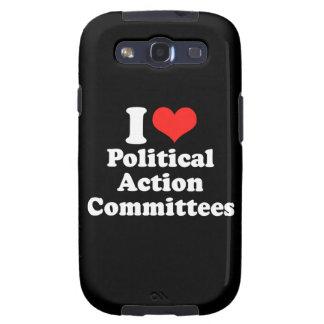 AMO la ACCIÓN POLÍTICA COM png Galaxy S3 Carcasas