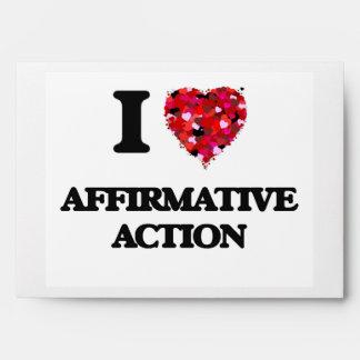 Amo la acción positiva sobre