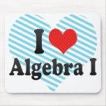 Amo la álgebra I Tapete De Raton