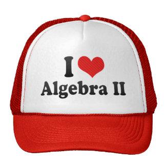 Amo la álgebra II Gorras