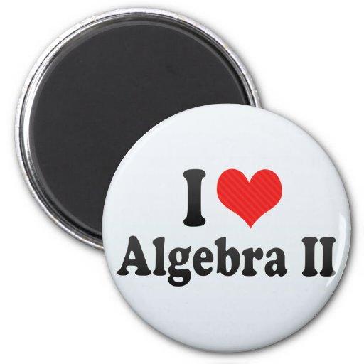 Amo la álgebra II Iman Para Frigorífico