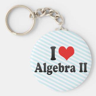 Amo la álgebra II Llavero