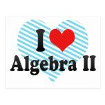 Amo la álgebra II Postal