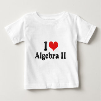 Amo la álgebra II Remeras