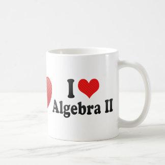 Amo la álgebra II Taza Clásica
