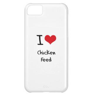 Amo la alimentación de pollo funda para iPhone 5C
