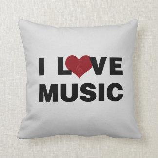 Amo la almohada de la música