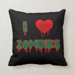 Amo la almohada de los zombis