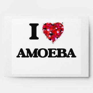 Amo la ameba sobre