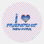 Amo la amistad, Nueva York Etiquetas