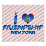 Amo la amistad, Nueva York Impresiones