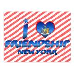 Amo la amistad, Nueva York Postal