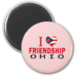 Amo la amistad, Ohio Imán De Frigorífico