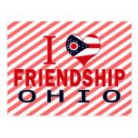 Amo la amistad, Ohio Tarjetas Postales