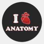 amo la anatomía etiqueta