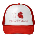 amo la anatomía gorras de camionero