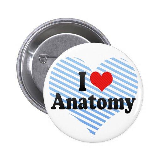 Amo la anatomía pin