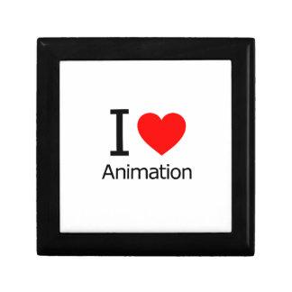Amo la animación caja de regalo