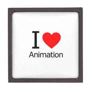 Amo la animación cajas de joyas de calidad