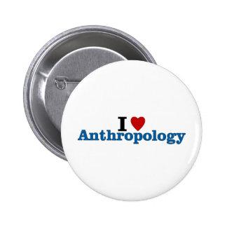 Amo la antropología pin