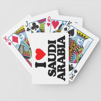 AMO LA ARABIA SAUDITA BARAJA DE CARTAS