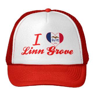 Amo la arboleda de Linn Iowa Gorro De Camionero
