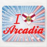Amo la Arcadia, la Florida Alfombrilla De Ratón