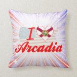 Amo la Arcadia, la Florida Almohadas