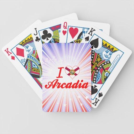 Amo la Arcadia, la Florida Cartas De Juego