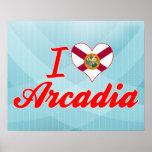 Amo la Arcadia, la Florida Impresiones