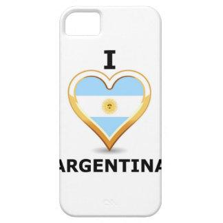 Amo la Argentina - caso del iPhone iPhone 5 Carcasas