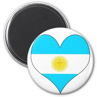 Amo la Argentina Imán De Nevera