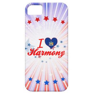 Amo la armonía Nueva York iPhone 5 Case-Mate Cobertura