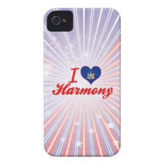 Amo la armonía Nueva York Case-Mate iPhone 4 Protector