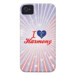 Amo la armonía, Wisconsin Case-Mate iPhone 4 Carcasas