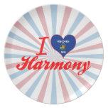 Amo la armonía, Wisconsin Platos De Comidas