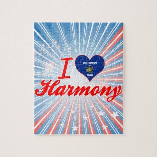 Amo la armonía, Wisconsin Rompecabeza