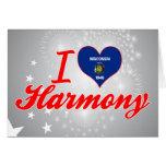 Amo la armonía, Wisconsin Tarjeta