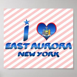 Amo la aurora del este, Nueva York Poster